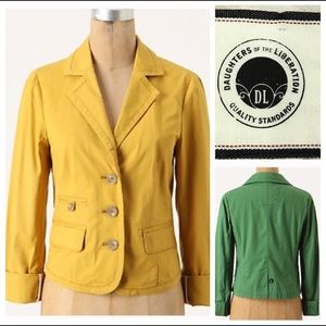 Anthropologie Blazer Daughters of the Libe…